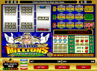 Major Millions Progressive Slot