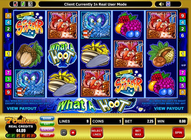 What a Hoot Slot - Spil Gratis Casinospil Online