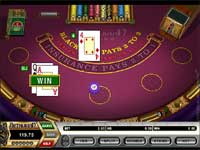 Arthurian Casino is one of The Few Microgaming Casinos That offer 50 Cent Blackjack