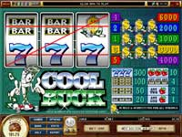 Cool Buck Slot Machine - 5 Paylines - 3 Reels