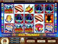 Reel Thunder is a Slot Machine With 5 Reels and 9 Paylines