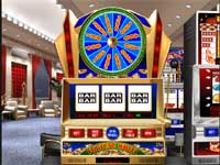 Fortune Slot is a Wheel of Fortune Style Slot Machine