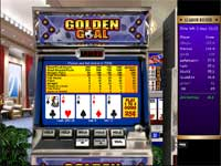 This video poker hand won me 3th place in the video poker tournament - If I can keep this spot I will win a Prize.