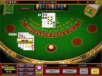 Blackjack at Gaming Club Casino - Bet from $2 per hand and up