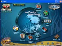 Pick Your Casino Games from The Casino Lobby at Reef Club Online Casino