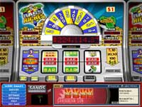 Rags to Riches Progressive Slot - $3 kan give dig den store jackpot