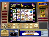 Aladdins Lamp - 9 Payline slot with a Bonus Feature Round