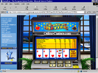 A Classic Casino Game - Jacks or Better Video Poker.