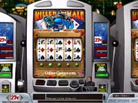 Killerwhale Slots - A slot machine with functionality similar to video poker!