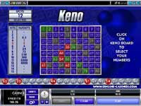 Keno Game - Pick Your Lucky Numbers