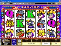 Big Top Slot Machine @ Cinema Casino