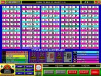 50 Hand Deuces and Joker Video Poker Machine