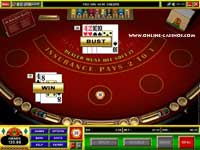 European Blackjack Game