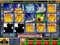 Thunderstruck Feature Video Slot
