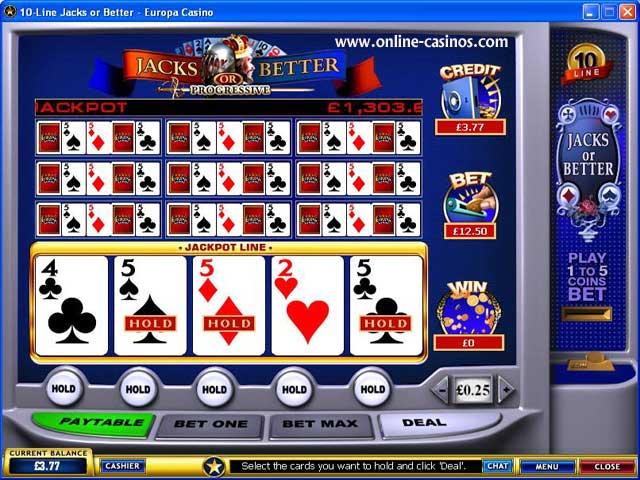 как называется рабочий казино