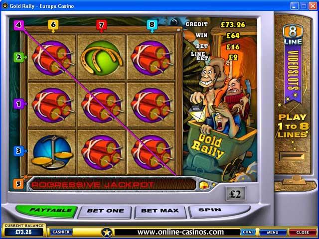 Jumping for Gold slots – spil online for rigtige penge