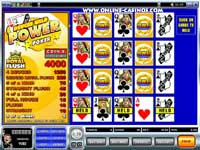 Four Hand Deuces Wild Video Poker Game