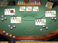 Multi Hand 3 Card Poker Game