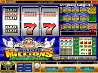 Major Millions: Players have won over $1m on the Major Millions progressive slot!