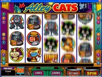 Alley Cats Video slot