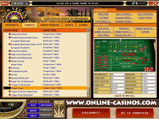 gambling information