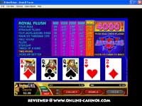 Aces And Faces Video Poker Game