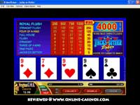 Four Of A Kind - Jacks or Better Video Poker