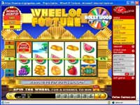online wheel of fortune slot picture