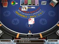 William Hill Euro Casino offer Multi Player Blackjack - Bet from $1 to $5000 per hand