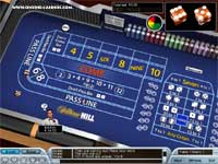 Shooting Craps @ William Hill Euro Casino