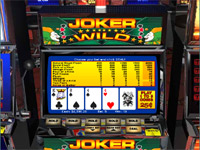Tryk her for at spille gratis Jokers Wild Video Poker