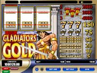 Tryk her for at spille gratis Gladiators Gold Slot