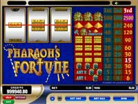 Tryk her for at spille gratis Pharaoh's Fortune Slot