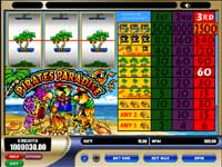 Tryk her for at spille gratis Pirates Paradise Slots Online